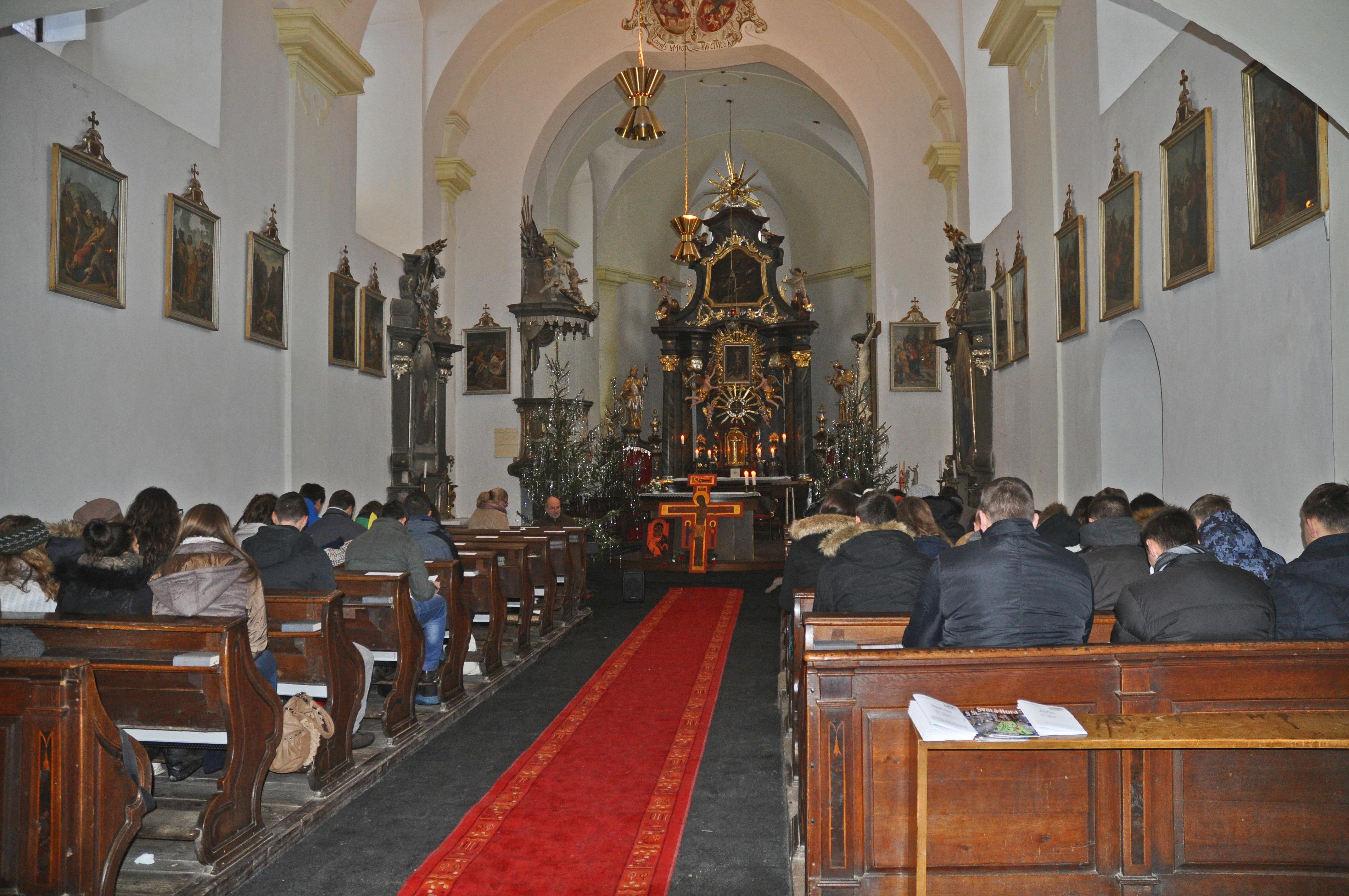 Taize - mše sv. Nový Knín